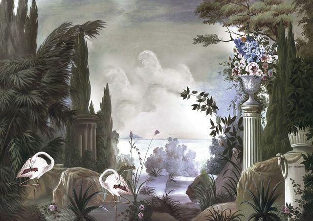 Ananbô - Papier peint panoramique-Ananbô-Le jardin de Portobello