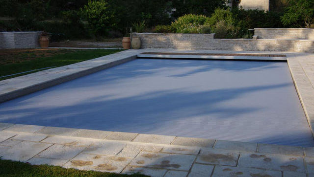Silver Pool - Couverture de piscine automatique-Silver Pool