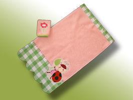 CréaFlo - Serviette de toilette enfant-CréaFlo-ensemble mini serviette 18 mois-3 ans