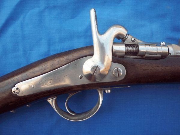 Cedric Rolly Armes Anciennes - Carabine et fusil-Cedric Rolly Armes Anciennes-CARABINE DE CHASSEUR A TABATIERE