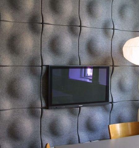 TECNISE - Panneau acoustique mural-TECNISE-SWELL