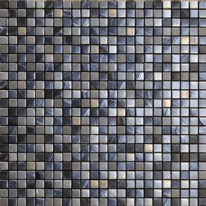Vives Azulejos y Gres - Carrelage mural-Vives Azulejos y Gres-Satinados Mosaico Tiépolo Plata 30x30cm