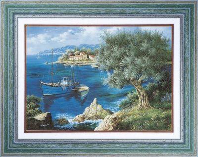 Atelier Artus - Tableaux Provence - Marine-Atelier Artus - Tableaux Provence-Olivier méditerranéen