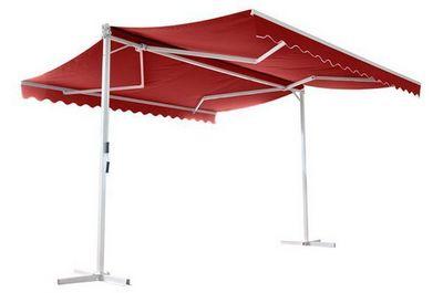UsiRama.com - Abri de terrasse-UsiRama.com-Abri Store de Terrasse � double pente PAPILLON 4X4