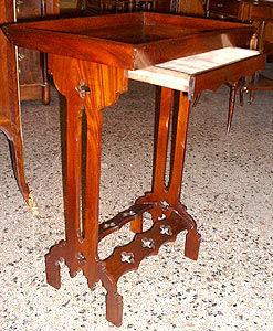 AU FAUBOURG - Tricoteuse-AU FAUBOURG-Table d'appoint dite Tricoteuse d'époque Restauration