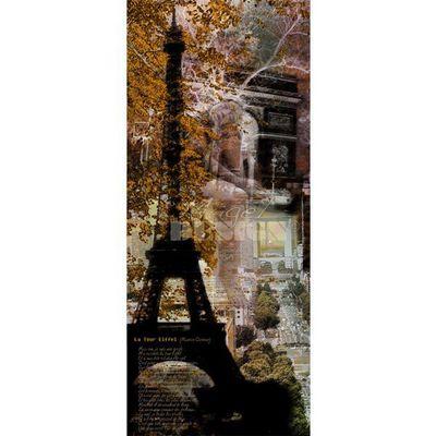 Magel'design - Tableau contemporain-Magel'design-Songe Parisien 100x200, 3D, Effet relief