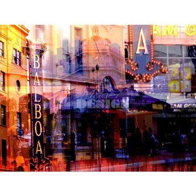 Magel'design - Tableau contemporain-Magel'design-San Diego Balboa120x90 cm , 3D effet relief