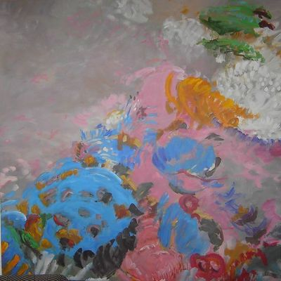 Fabienne Colin - Tableau contemporain-Fabienne Colin