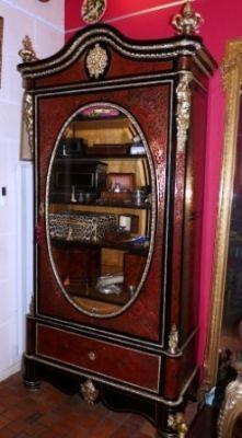 Art & Antiques - Bonnetière-Art & Antiques-Bonnetière en marqueterie Boulle toutes faces