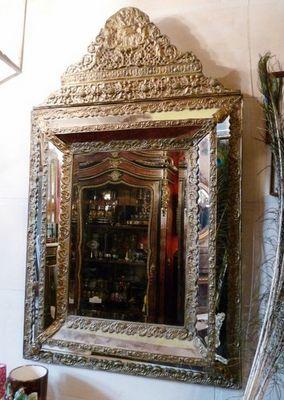 Art & Antiques - Miroir-Art & Antiques-Miroir Napoléon III pareclose