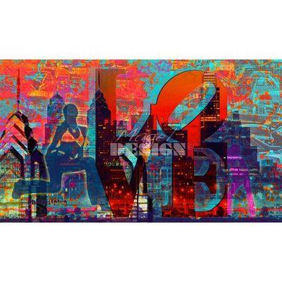 Magel'design - Tableau personnalisé-Magel'design-Love Philadelphia