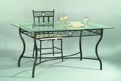 Miliboo - Table de repas rectangulaire-Miliboo-FLORENCE