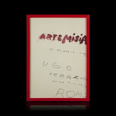 Expertissim - Estampe-Expertissim-CY TWOMBLY. Affiche d'exposition