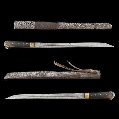 Expertissim - Sabre-Expertissim-Couteau Afghan, fin du XIXe siècle