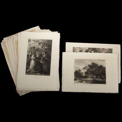 Expertissim - Gravure-Expertissim-Cinquante-deux gravures éditées par l'Art