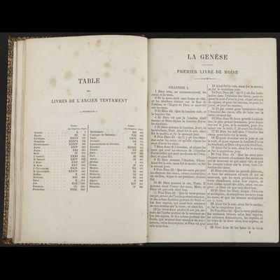 Expertissim - Livre ancien-Expertissim-La Sainte Bible d'après la version de J.-F. OSTER