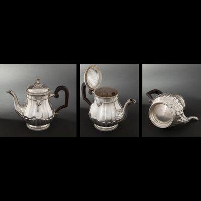 Expertissim - Service à thé-Expertissim-Service à thé et café en argent