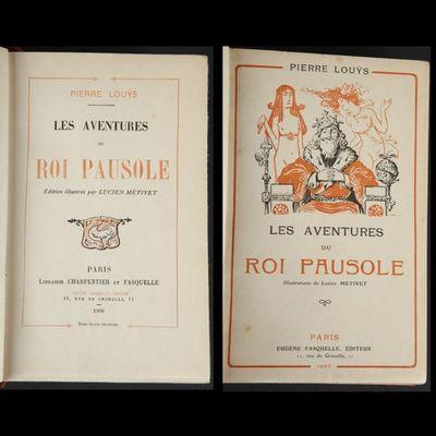 Expertissim - Livre ancien-Expertissim-LOU?S (Pierre). Les Aventures du roi Pausole