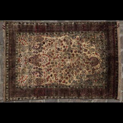 Expertissim - Sarouk-Expertissim-Keschan en soie, centre de la Perse