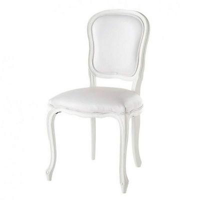 Maisons du monde - Chaise-Maisons du monde-Chaise blanche Versailles
