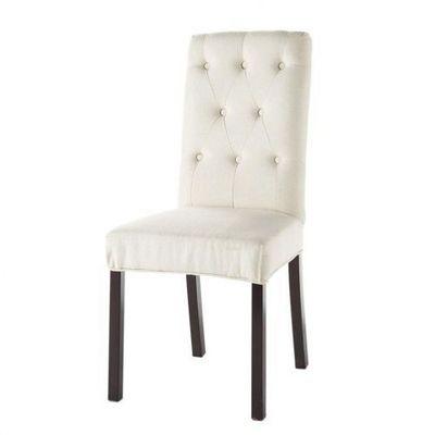 Maisons du monde - Chaise-Maisons du monde-Chaise ivoire Elizabeth