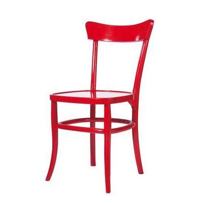 Maisons du monde - Chaise-Maisons du monde-Chaise rouge Bistrot