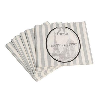 Maisons du monde - Serviette en papier-Maisons du monde-Serviette Haute Couture x20
