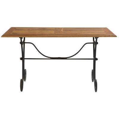 Maisons du monde - Table de repas rectangulaire-Maisons du monde-Table � d�ner 140 cm Lub�ron