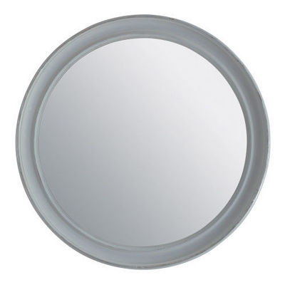 Maisons du monde - Miroir-Maisons du monde-Miroir Elianne rond gris