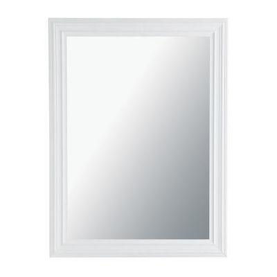 Maisons du monde - Miroir-Maisons du monde-Miroir Napoli blanc 90x120