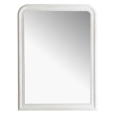 Maisons du monde - Miroir-Maisons du monde-Miroir Louis blanc 90x120