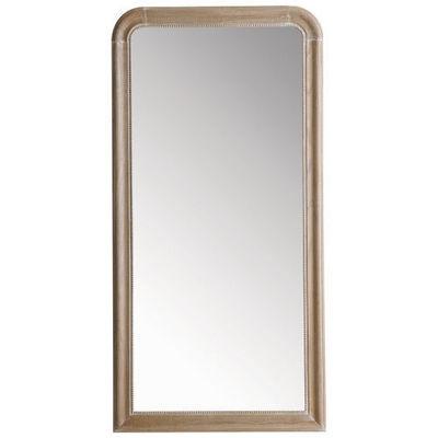 Maisons du monde - Miroir-Maisons du monde-Miroir Louis naturel 80x160