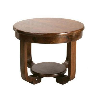 Maisons du monde - Table basse ronde-Maisons du monde-Table basse Charleston