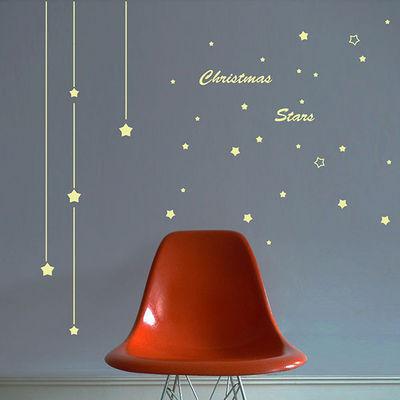 ART FOR KIDS - Décoration de Noël-ART FOR KIDS-Stickers phosphorescent Les lumières de Noël