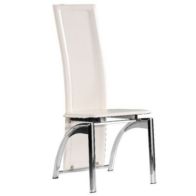 CLEAR SEAT - Chaise-CLEAR SEAT-Chaise Moderne Iris Blanche