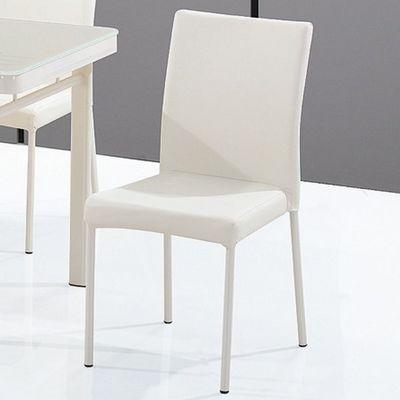 CLEAR SEAT - Chaise visiteur-CLEAR SEAT-Chaises Luna Blanc Cr�me lot de 6