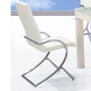 CLEAR SEAT - Chaise-CLEAR SEAT-Chaise Boreal Blanche