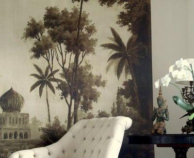 Ananb� - Papier peint panoramique-Ananb�-Badalpur S�pia