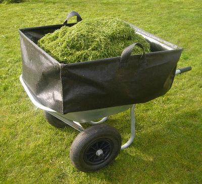 Idees B Creation - Sac à herbe-Idees B Creation-Sac à brouette 300 litres avec toile polypropylène