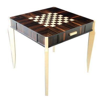 DAAN KOERS ÉBÉNISTE - Jeu d'échecs-DAAN KOERS ÉBÉNISTE-Table d'échecs