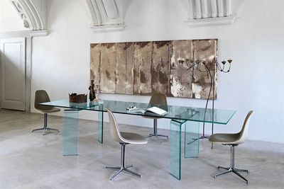 Fiam - Table bureau-Fiam-ray