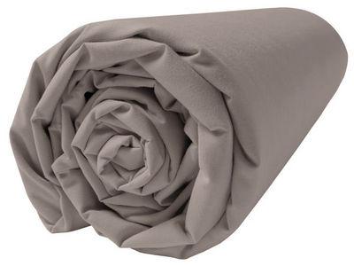 BLANC CERISE - Drap housse-BLANC CERISE-Drap housse - percale (80 fils/cm²) - uni moka