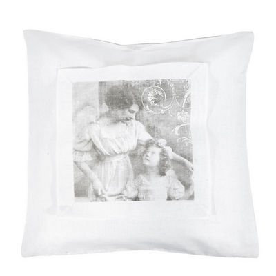 Mathilde M - Coussin carr�-Mathilde M-Coussin Carr�s d'anges Ma petite ch�rie