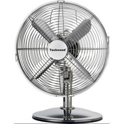TECHWOOD - Ventilateur sur pied-TECHWOOD-Ventilateur inox 30cm diamètre