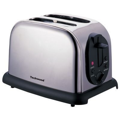 TECHWOOD - Toaster-TECHWOOD-Grille pain inox