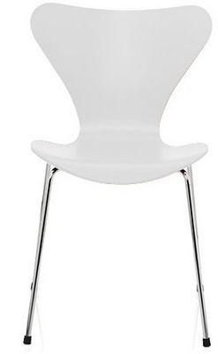 Arne Jacobsen - Chaise-Arne Jacobsen-Chaise Sries 7 Arne Jacobsen 3107 Bois structur bl