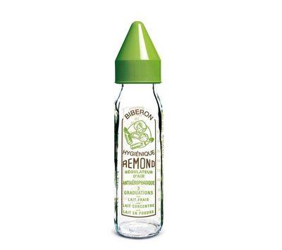 DBB REMOND - Biberon-DBB REMOND-Biberon Vintage vert avec ttine nouveau n (240 ml)