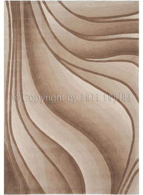 Arte Espina - Tapis contemporain-Arte Espina-Tapis IN MOTION beige 200x300 en Acrylique