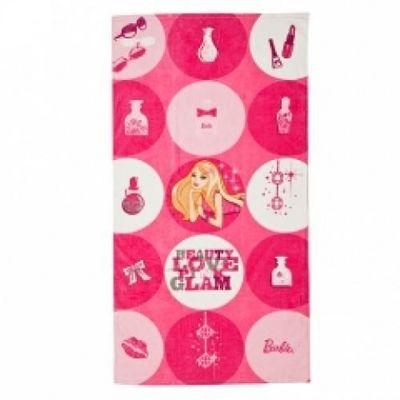 BARBIE - Serviette de toilette enfant-BARBIE-Drap de plage Barbie My Fab Beach Towel !