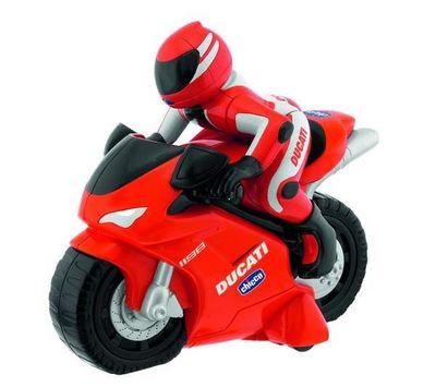 Chicco  France - Moto miniature-Chicco  France-Moto Ducati 1198 radiocommande